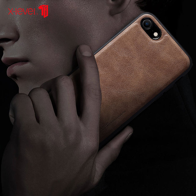 X-Level Leather Case For iPhone SE 2 2020 8 7 6 6s Plus Funda Original Shockproof Back Phone Cover Coque For iPhone 6 6s 7 8 1