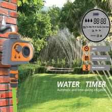 Automatic Electronic Water Timer Irrigation Controller System Garden Watering Timer Home New environmental protection water timer gardena multicontrol duo home