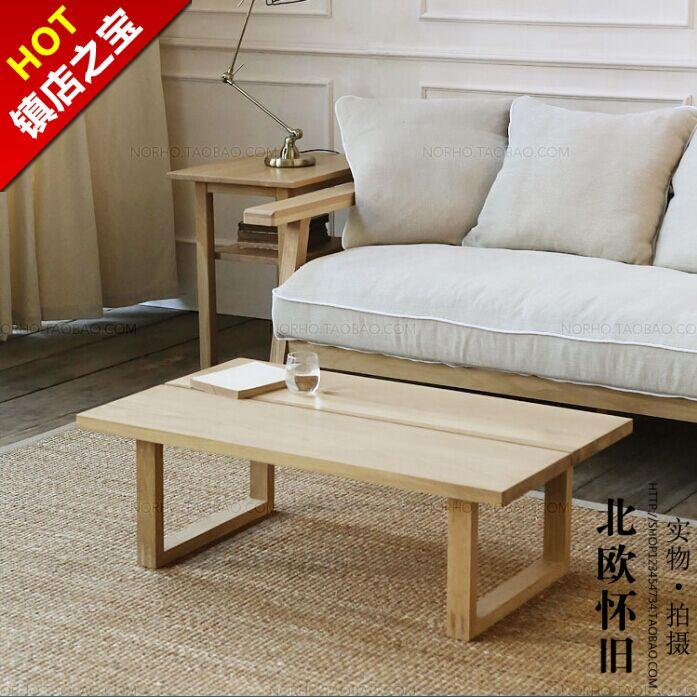 Nordic ikea mesa de centro para hacer el viejo retro sala de estar unos pocos larga mesas de - Como hacer una mesa baja de salon ...
