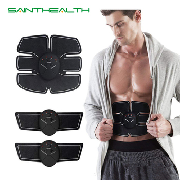 EMS Trainer Smart Electric ABS Muscle Stimulator Body Beauty machine EMS Fitness weight loss body slimming massage