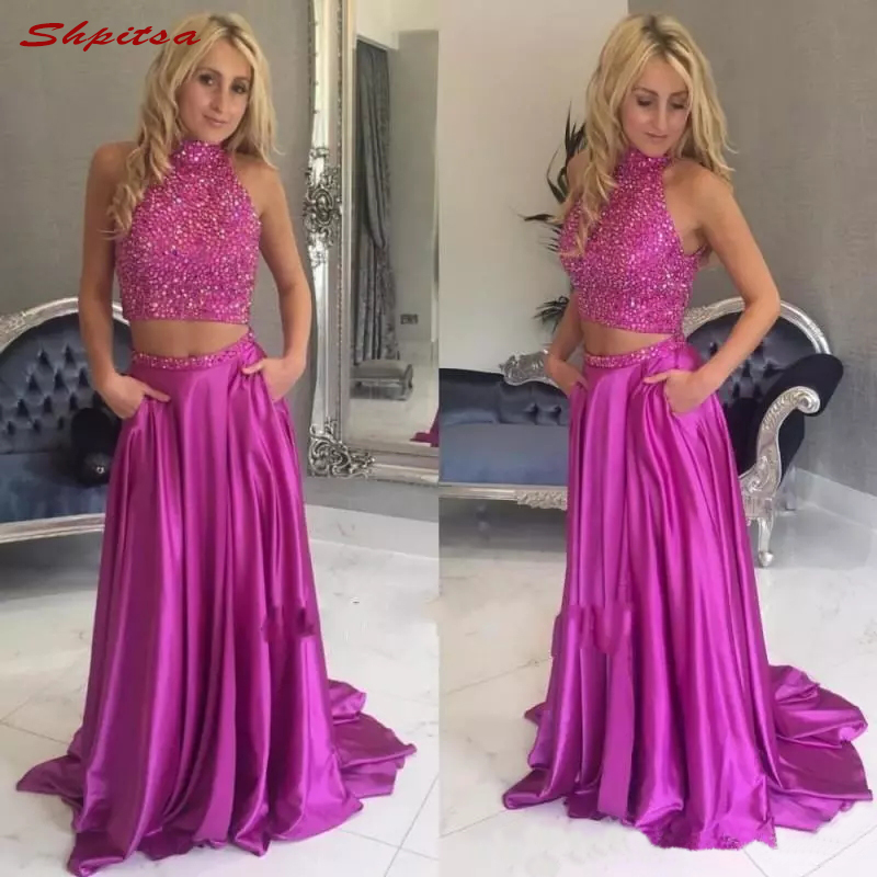 Two Piece Mother Of The Bride Dresses For Wedding Bride Plus Size Evening Gowns Groom Godmother Dinner Dresses 2018