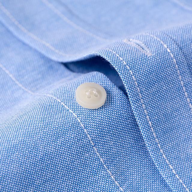 Brand Men Shirt Long Sleeve 2018 Spring New Solid White Casual Shirt Men Oxford Dress Shirt Youth Plus Size Male Shirt Clothing 5