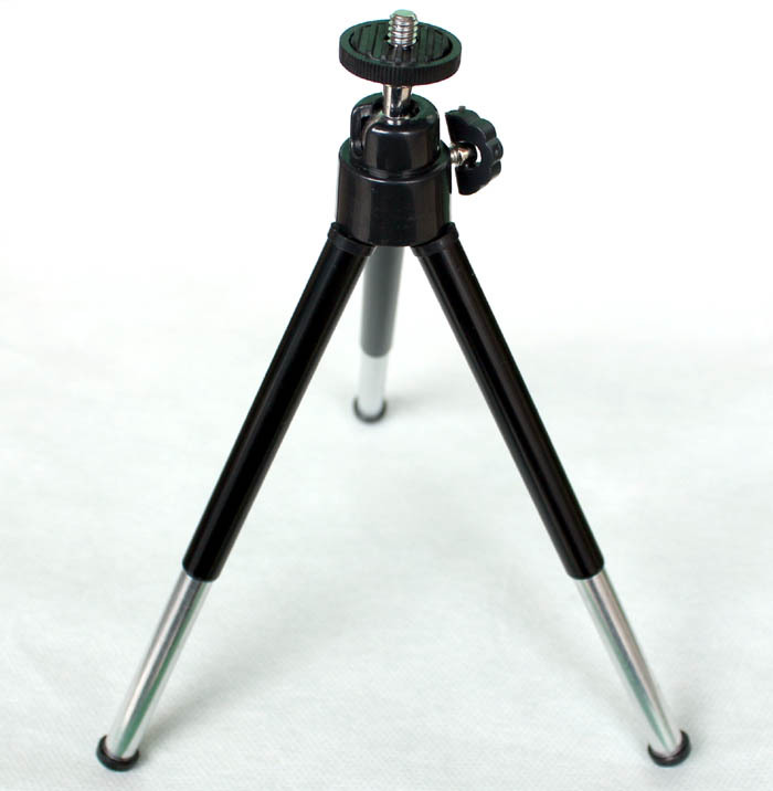 Wholesale Retail Cheap Price Mini Floor Stand Tripod Good Quality Silver Black Color For Projector DV Camera Phone Free Shipping