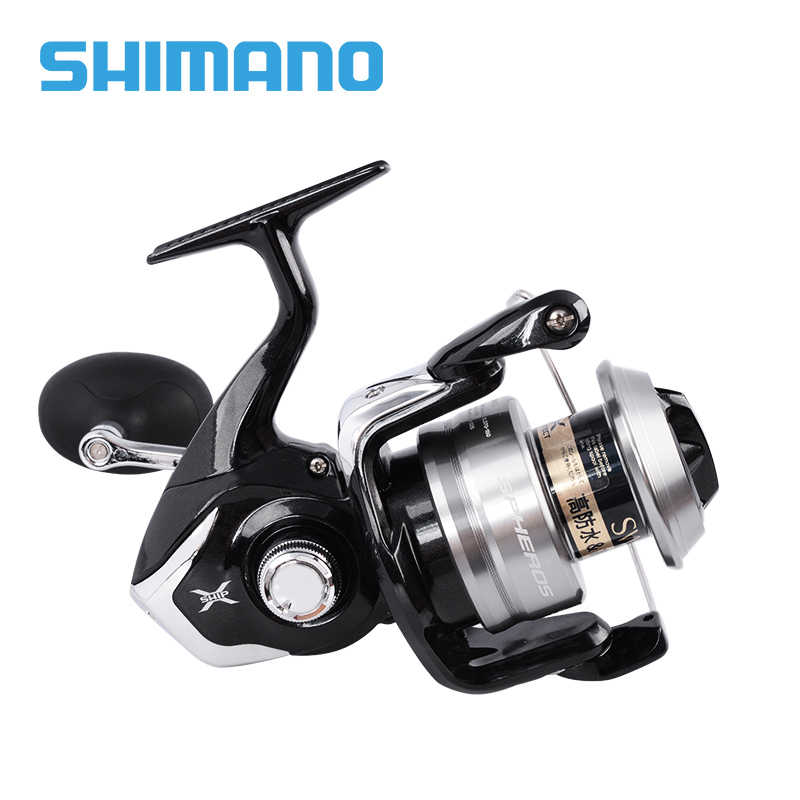 100% Original Shimano SPHEROS Spinning Fishing Reel SW 5000HG 6000PG 4+1BB  Gear Ratio 5 7:1/4 6:1 Max drag 10kg Saltwater