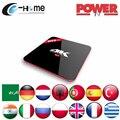 IPTV poder S912 H96 PRO Android 6.0 2 GB/16 GB 2.4G/5 GHz Árabe Francés Alemania países bajos Portugal Italiano Adultos xxx Europa IPTV