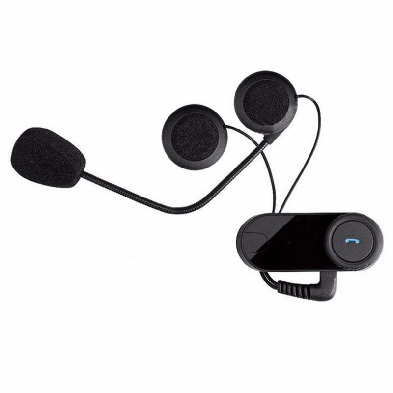 1 Pc Motorcycle Bluetooth Helmet BT Intercom Motorcycle Communication Wireless Bluetooth Helmet Intercom referee headset