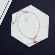Small Round Beads Silver Beach Anklets Pendant Anklets For Women Beads Indian Simple Anklets Fashion Allergy Female Jewelry pendant anklets barefoot sandals beads indian gold silver beads sequins anklets bracelet for women jewelry foot chain anklets