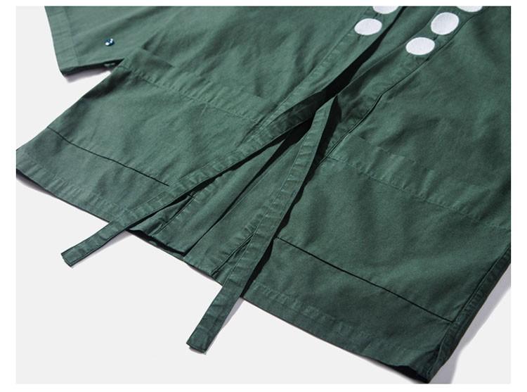 Kimono jacket mens japanese clothing fashion design harajuku street wear casual japan style outwear kanye west kimonos jackets (4)
