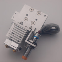 Chimera / Cyclops Bowden X carriage mount hotend kit for Reprap Prusa i3 Inductive Sensor Auto Leveling Probe 1.75mm