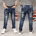 New Year, boy jeans,Children Casual Trousers Baby Boys Jeans  Long Denim Pants Kids Ripped Jeans Boys clothes CalCa Jeans
