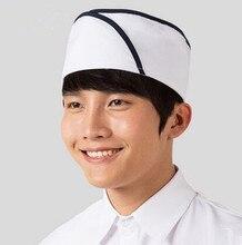 korea chef hat chef cap chinese restaurant chef hat waiter accessories brief waiter hat