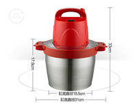 Meat Grinders Minced Meat Machine Commercial Household Electric Stainless Steel Large Capacity 5L Chopped Pepper Raw