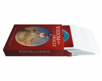 New knowledge wisdom oracle cards 52 cards/set English mysterious fortune tarot cards game for girls family card game new knowledge wisdom oracle cards 52 cards set english mysterious fortune tarot cards game for girls family card game