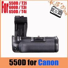 Вертикальный Батарейная ручка Пакет для цифровой однообъективной зеркальной камеры Canon EOS 550D 600D 650D 700D T4i T3i T2i как BG-E8