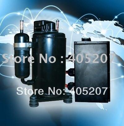 HVAC R134a DC 48v solar power air conditioner for Tele
