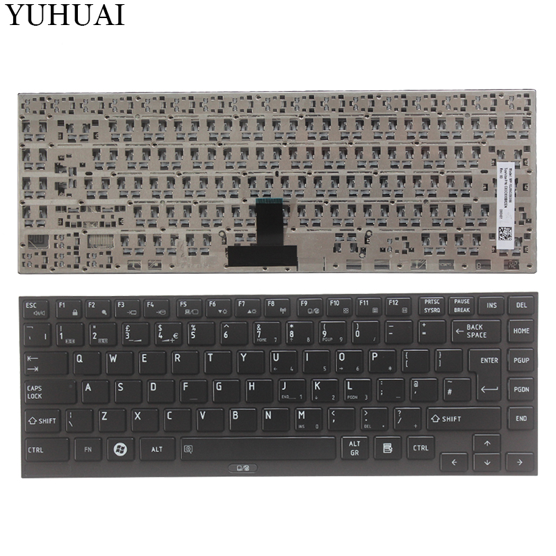 New UK laptop keyboard for Toshiba R700 R705 R830 R835 R700 R705 R730 R731 R630 R631 UK keyboard black все цены