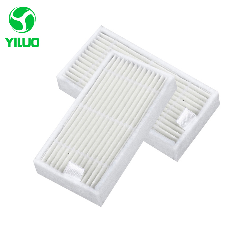 High Efficiency White X500 HEPA Filter to Filter Air for X500 X580 KK8 ML009 CR120 CR121 CEN540 Robotic Vacuum Ceaner Parts replacement hepa filter 80mm 40mm 15mm for cr120 cen540 cen250 x500 x580 kk8 robot vacuum cleaner hepa filter parts