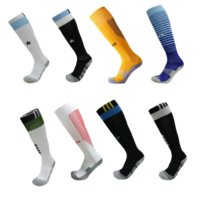 Men Professional Sports Soccer Socks The national Club Football Breathable Antibacterial sport Running knee high Sock for Adult все цены