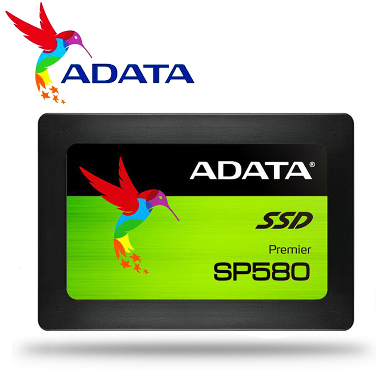 SP580 ADATA SSD 120GB PC Desktop 240GB 2.5 polegada SATA III HDD HD Disco Rígido SSD Notebook PC 480GB 960GB Drive de Estado Sólido Interno