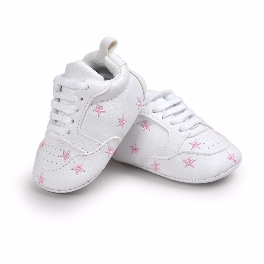 Hot Multiple Star Baby Girl Shoes first walkers Lace-up Fashion Baby Shoes For 0-18 Months first line therapy in multiple myeloma