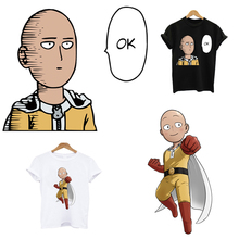 ONE PUNCH-MAN iron on patches stripes thermo stickers on clothes application of one flower applique transfers for clothing anime
