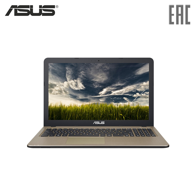 "Ноутбук ASUS X540LA-DM1255 15.6""/i3-5005U/4Гб/500Гб/DVD-RW/Intel HD 5500/Endless/Коричневый (90NB0B01-M24400)"