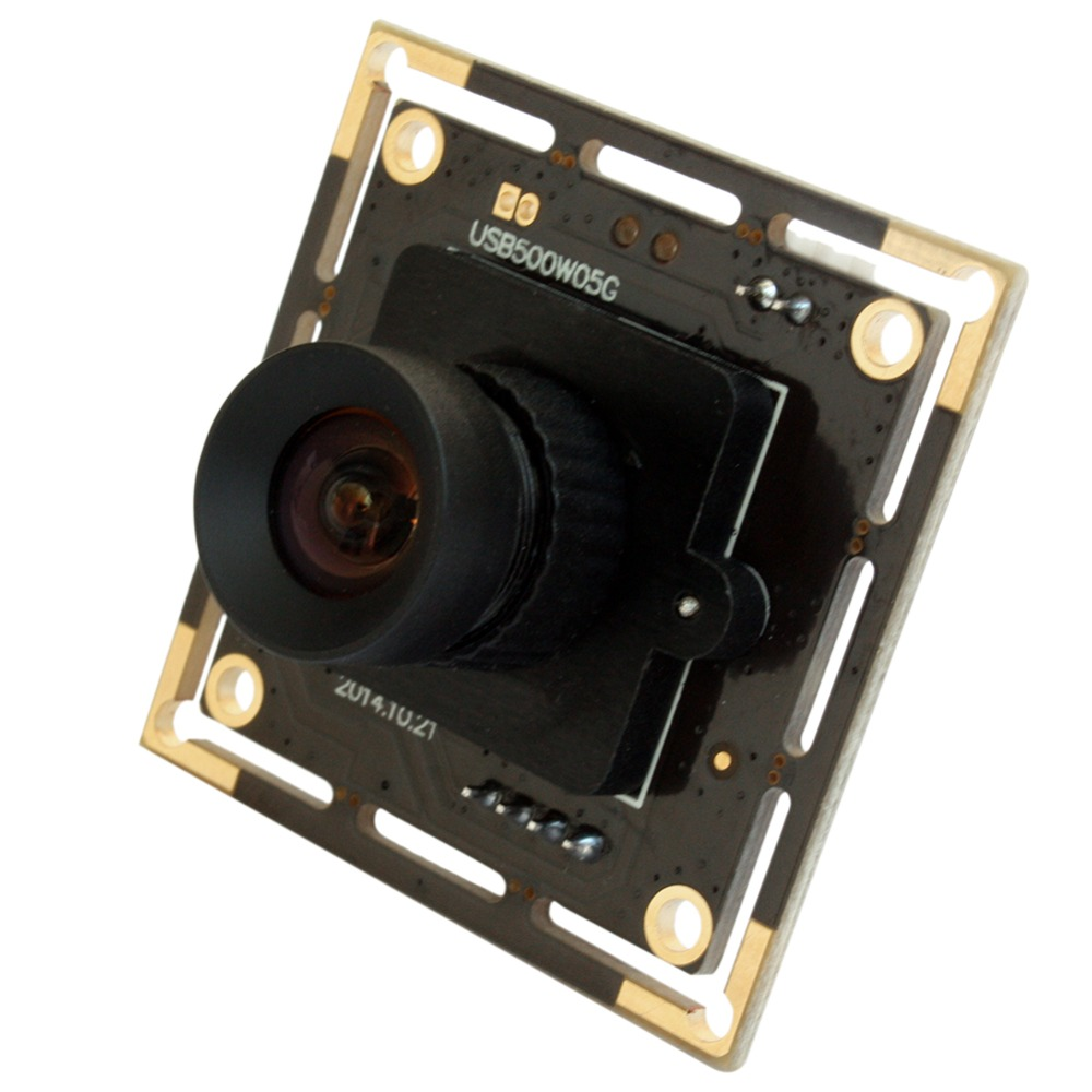ELP 5mp High Speed Aptina MI5100 HD MJPEG 30fps at 1080P 3.6mm lens mini CCTV usb Cmos Camera Module best quality 5mp aptina cmos 180degree fisheye lens usb 2 0 webcam cctv usb board camera module