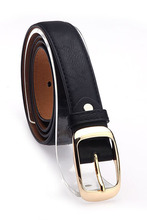 Leather Belt Woman Belts For Women Cinto Feminino Black White Brown Leopard Strap Female Sv10