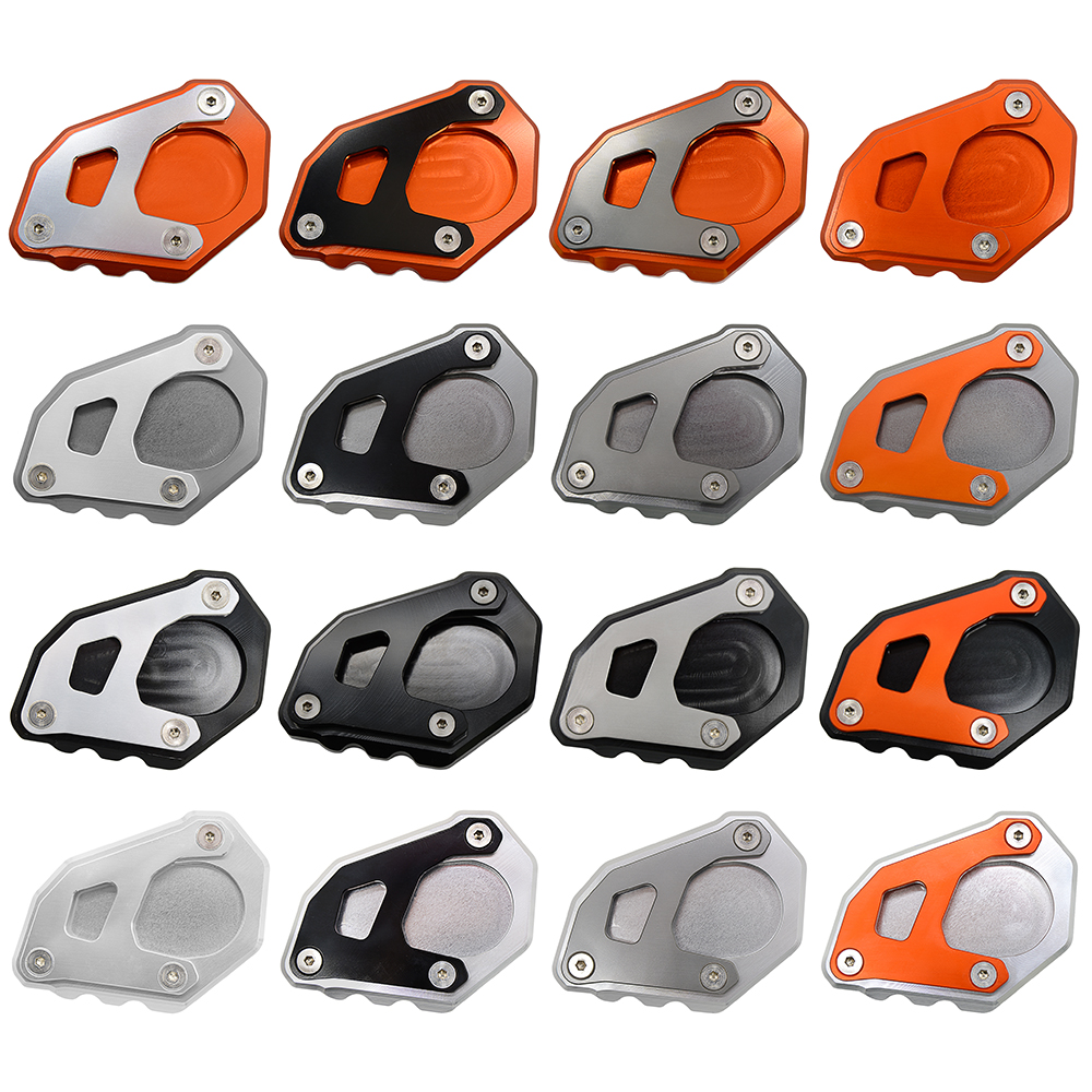 Motorcycle Kickstand Side Stand Enlarger Foot Extension Plate Pad For KTM 1050 1090 1190 1290 Adventure/1290 Super Adventure R