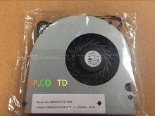 حقيقية جديد ل ASUS X71 X71S X71SL N70 N90 M70 F70SL F90SV G71 G71GX G71G UDQFLZH22DAS KDB0705HB 7H95 محمول وحدة المعالجة المركزية مروحة تبريد