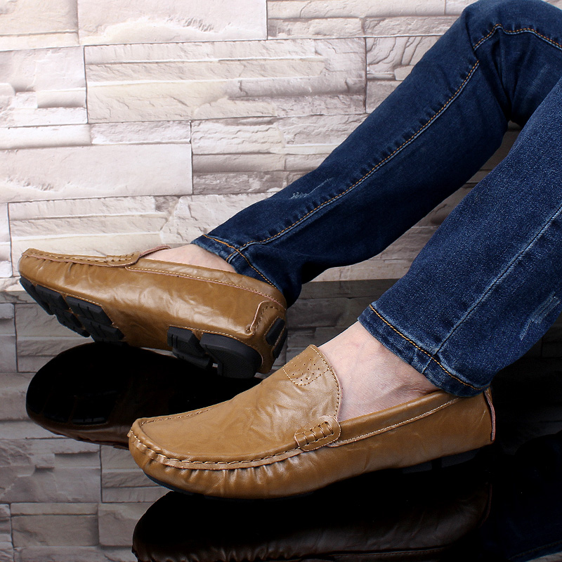 Handmade Men Shoes Genuine Leather Men