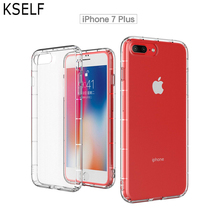 Luxury Shockproof Bumper Transparent Silicone Phone Case For iPhone X XS Max XR 8 7 6 6S Plus 5S SE Clear protection Back Cover