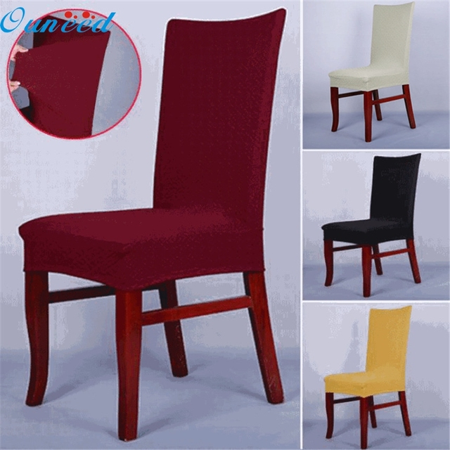 Ouneed Lovely Pet Dining Chair Covers Spandex Strech Room Protector Slipcover Decor Oct1017
