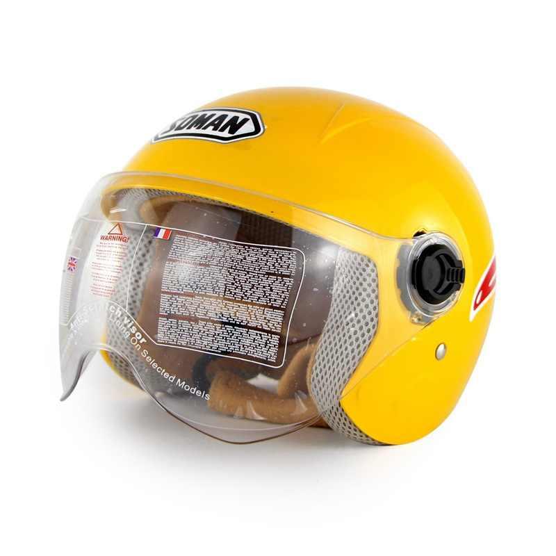 Детские шлемы с миньонами, Детские мотоциклетные шлемы для мальчиков и девочек