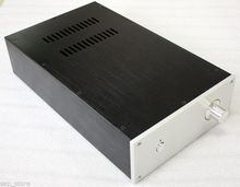 DIY Aluminio Lleno chasis del amplificador amp caso del Recinto 230*395*90mm