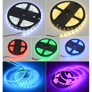 Image 5 - 1 Roll 5M Waterproof 12V LED Strip Light 5050 RGB RGBW RGBWW Pink Ice Blue Red Green Diode Tape LED Lamp Home Holiday Decoration
