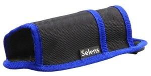 Image 3 - Selens 블랙 허리 가방 케이스 파우치 D 링 스트랩 Monopod Unipod 삼각대 용