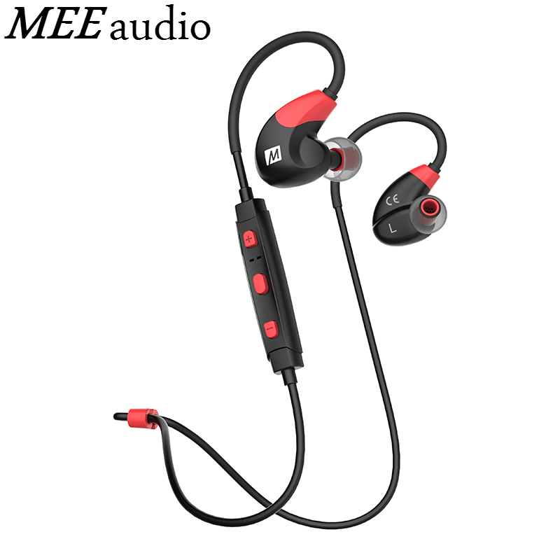 Original MEE audio X7 Bluetooth Sports Headphones Deep Bass Wireless In-ear Headset Sweat-resistant Earphones With Mic For Phone under armour wireless sports earbuds headphones bluetooth sweat proof in ear headset with mic music calls control for iphone 7