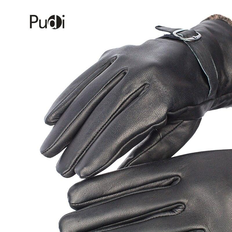 Guantes de cuero genuino GL7002 para hombre, guantes de cuero de - Accesorios para la ropa - foto 5