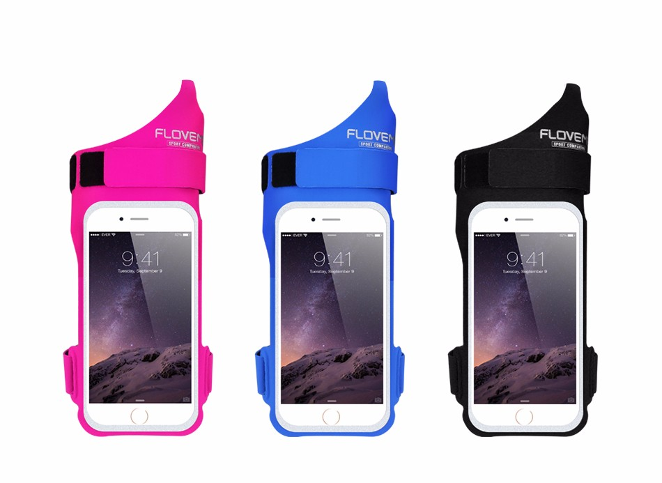 FLOVEME New Cycling Sports ARMBAND Case For Apple Iphone 6 6S Plus SE 4S For Iphone5S For XIAOMI REDMI For HUAWEI P9 Touch Pouch 1 (2)