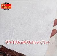 Китайская бумага Хуань, ручная рисовая бумага для рисования и декупажа, 97*180 см Бесплатная доставка