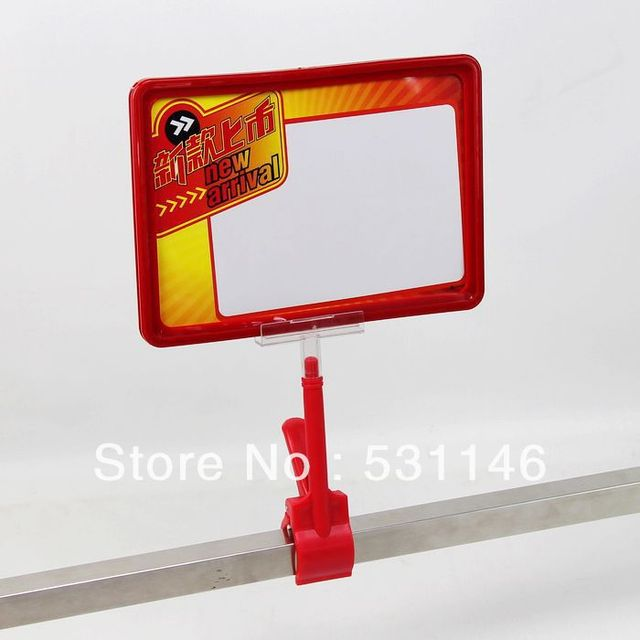 Free Shipping A3 Clip Frames/POP tags advertising frame/POP support ...