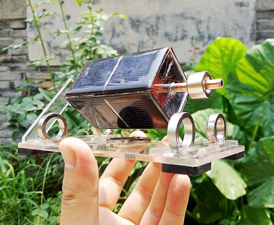 Mendocino motor magnetic levitation motor solar motor science toy kits type3