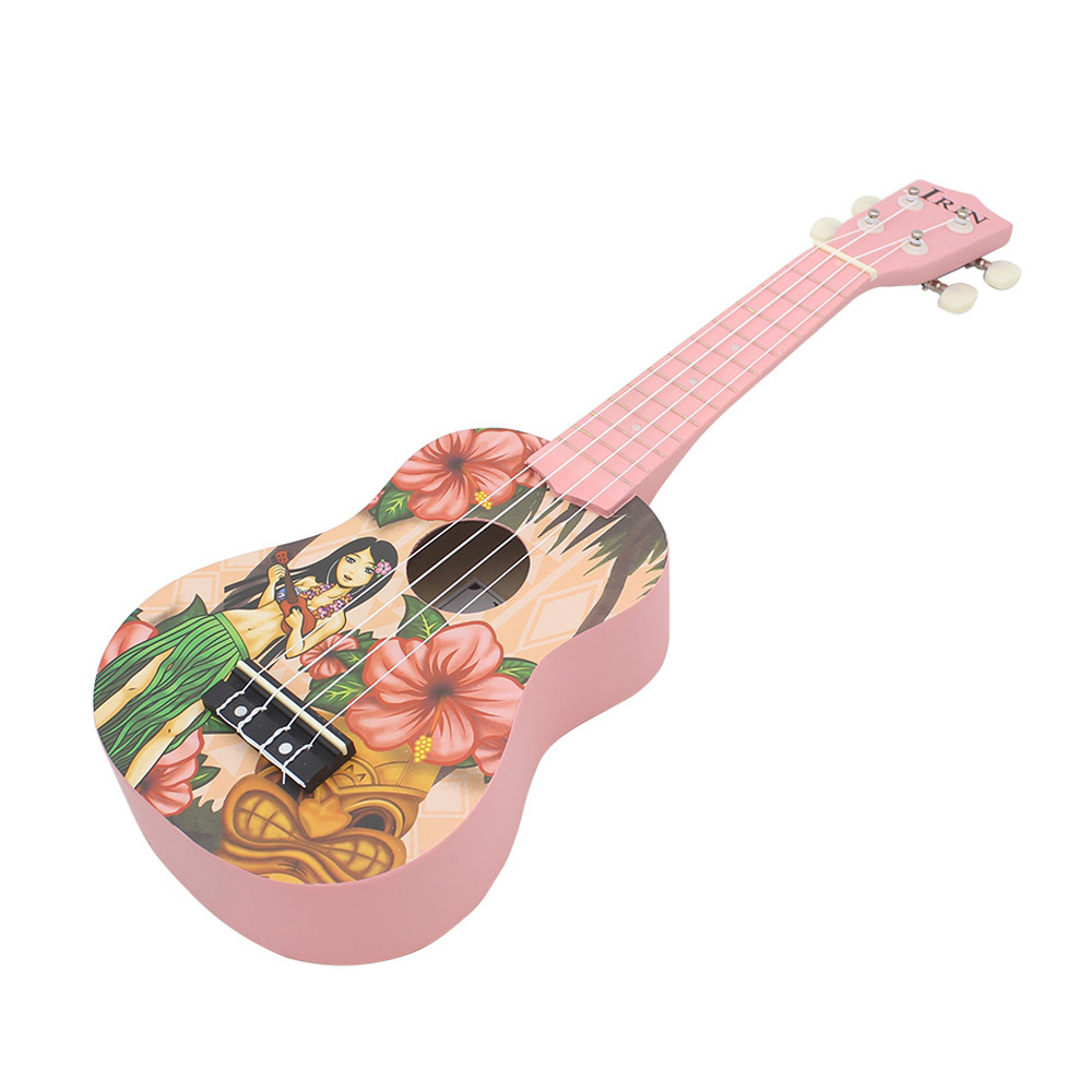 New IRIN High Quality 21 inch Ukelele 4 Strings Ukulele Lovely Basswood Stringed Musical Instrument Christmas Gift