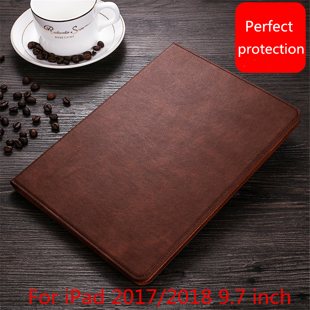 Case For iPad 2018 9.7 inch,Ultra Thin Auto Sleep wake up Stand Leather Cover For New iPad 2017 9.7 Case A1822 A1823 A1893 A1954 кольца sjw rw051