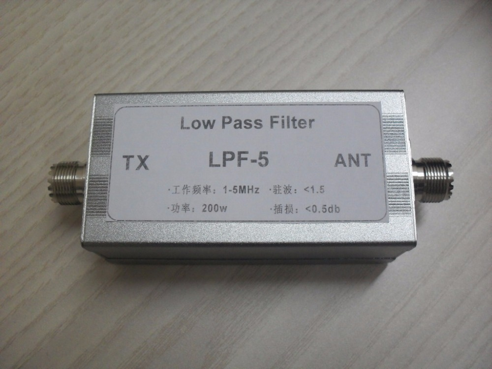 Free shipping Low pass filter LPF 5 5MHz low pass filter in ABS Sensor from Automobiles Motorcycles