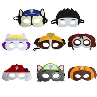 8pcs Set Children Cartoon Masks Super Hero Mask Children S Day Party Decoration Supplies Birthday Gift