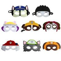 8pcs Set Children Cartoon Masks Super Hero Mask Children S Day Party Decoration Supplies Birthday Gift