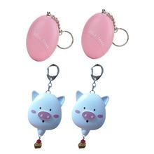 4pcs per carton mini egg personal alarm and cute pig kids alarm kids security device