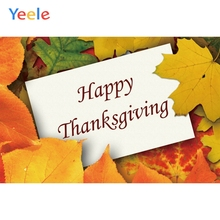Yeele Thanksgiving Day Sycamore Leaves Simply Style Photography Backdrops Personalized Photographic Backgrounds For Photo Studio